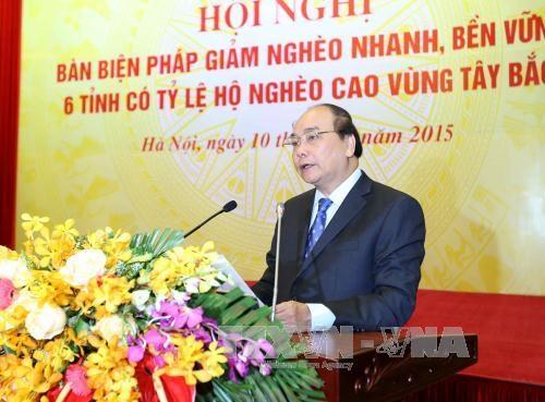 阮春福副总理:西北地区各省应努力提高教育培训质量将其视为减贫的根本措施 hinh anh 2
