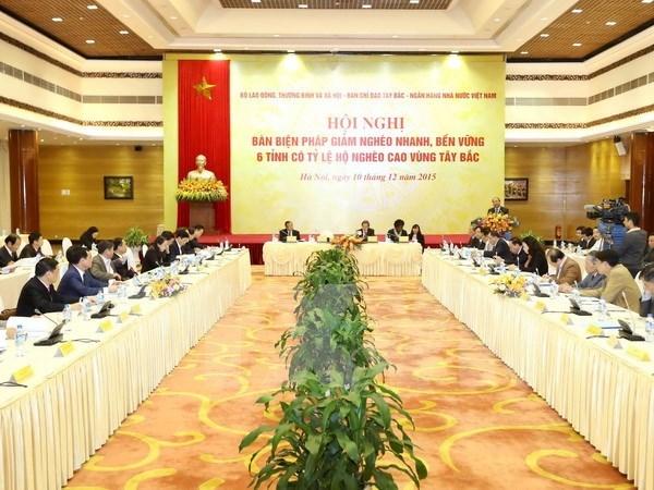 阮春福副总理:西北地区各省应努力提高教育培训质量将其视为减贫的根本措施 hinh anh 1