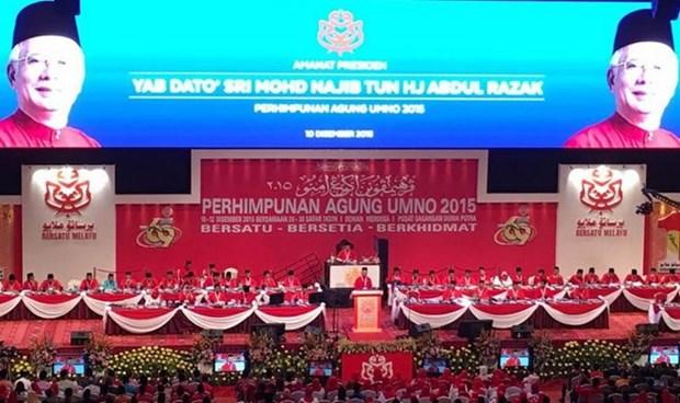 越南共产党代表团出席马来民族统一机构第69次党代表大会 hinh anh 1