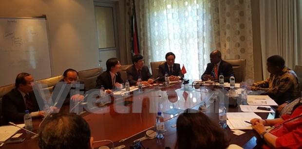 越南国会与南非国民议会加强对外合作 hinh anh 1