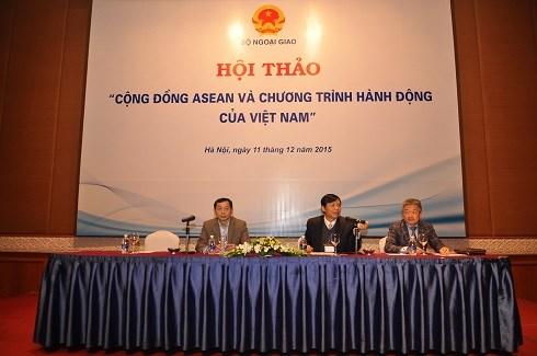 """越南外交部举行""""东盟共同体与越南行动计划""""研讨会 hinh anh 1"""
