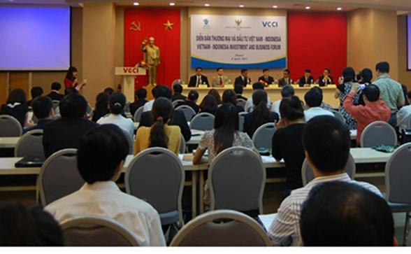 2015年越南印尼企业论坛在河内举行 hinh anh 1