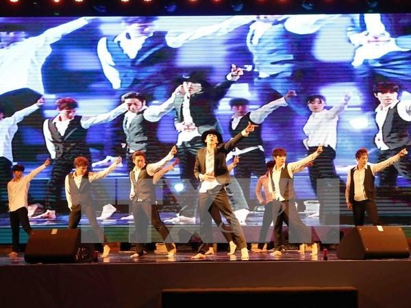 2015年越南韩国文化交流节在岘港市举行 hinh anh 1