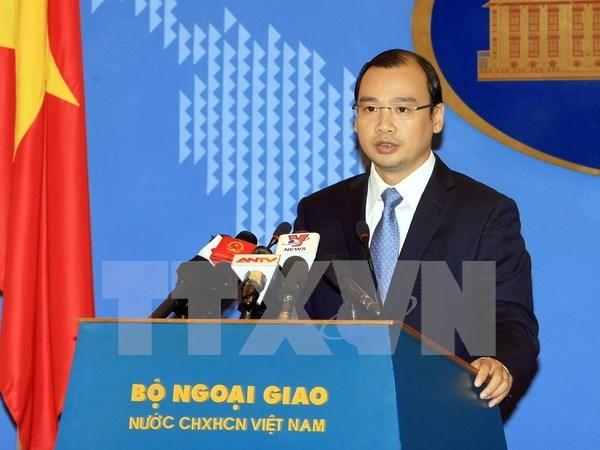 越南外交部发言人:越南要求中国台湾立即停止侵犯越南主权的行为 hinh anh 1