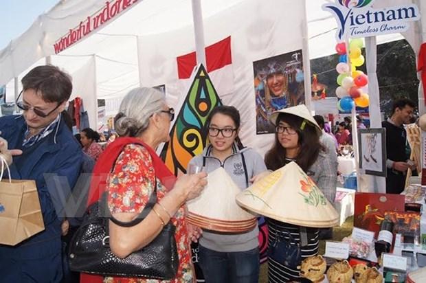 越南参加在印度举行的慈善义卖活动 hinh anh 1