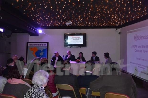 关于东海问题的展览会和座谈会在巴黎举行 hinh anh 1