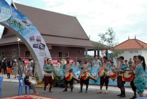 越南旅游企业出席2015年柬埔寨海洋节 hinh anh 1