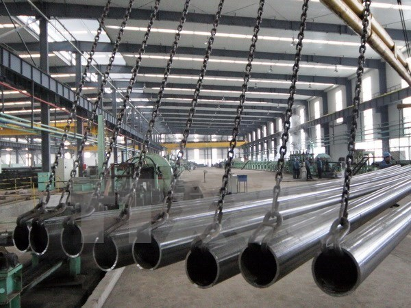 越南建筑钢材生产同比增长30% hinh anh 1