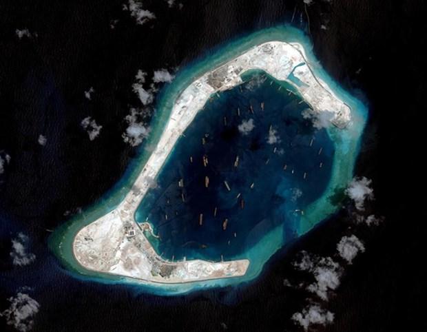 新加坡对中国在东海非法填海造地活动表示关切 hinh anh 1