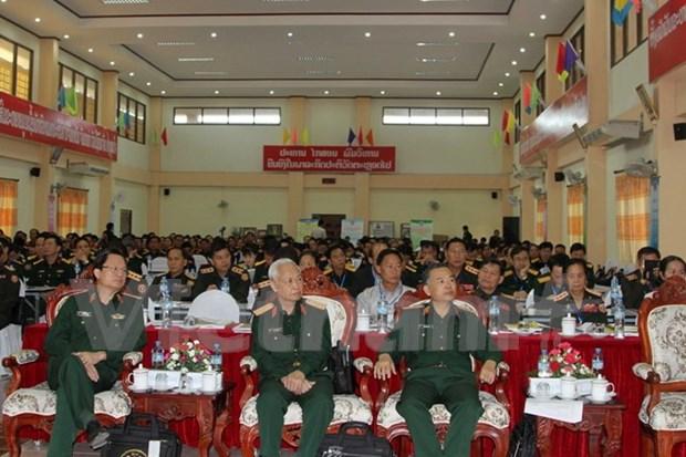 第4次越老军医科学会议在老挝举行 hinh anh 1