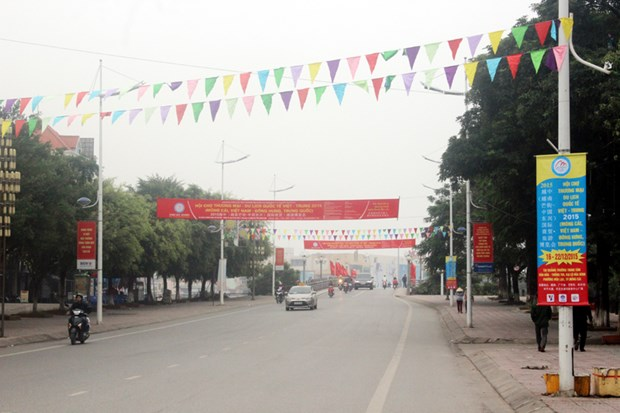 2015越中(芒街-东兴)国际商贸·旅游博览会今日开幕 hinh anh 1