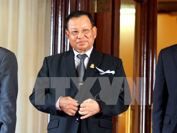 柬埔寨参议院主席赛宗开始对越进行正式访问 hinh anh 1