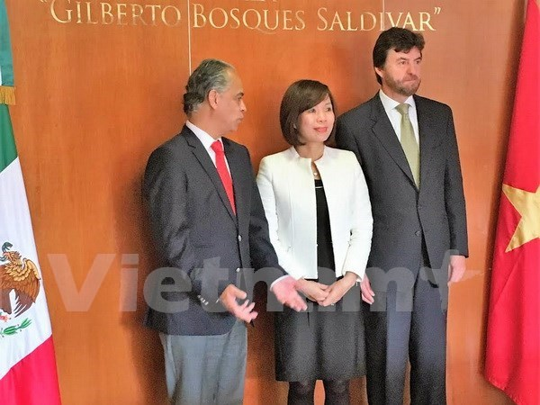 墨西哥新一届议会众议院希望密切同越南的关系 hinh anh 1