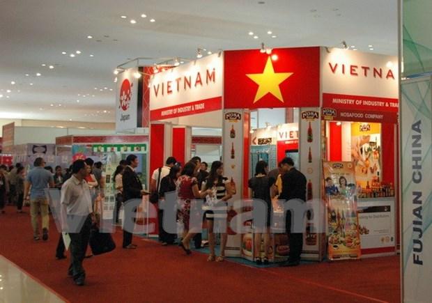 面向东盟共同体:越南参加第九届柬埔寨进出口暨一省一品展会 hinh anh 1