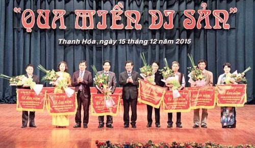 越南7省市联合国教科文组织非物质文化遗产聚集清化省 hinh anh 1