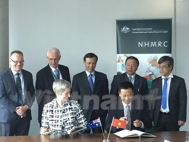 越南与澳大利亚启动健康与医学领域的共同研究项目 hinh anh 1