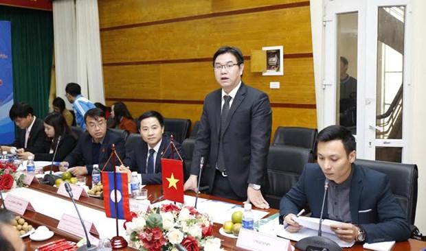 促进越南与老挝青年的交流与合作 hinh anh 1