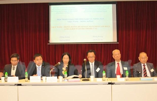 中国香港成为越南大米的主要出口市场 hinh anh 1