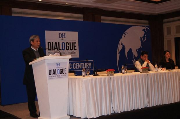 """越南参加在印度举行的题为""""亚太世纪:印度和大国关系""""对话会 hinh anh 1"""