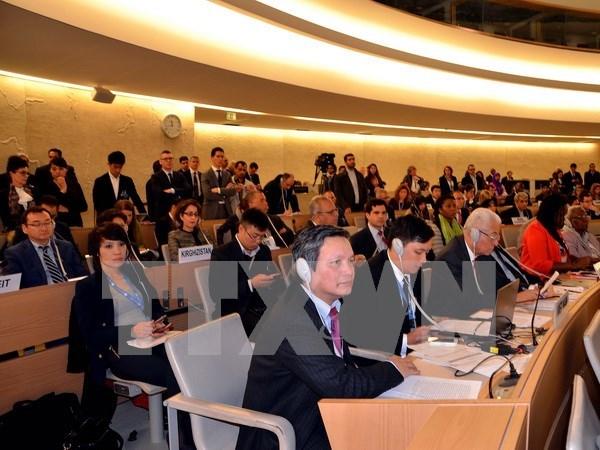 越南担任好联合国人权理事会成员国一职 hinh anh 1