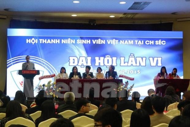 大力促进旅捷越南青年大学生协会发展 hinh anh 1
