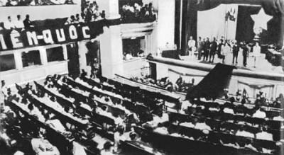 回想69年前越南国会召开的首场质询会 hinh anh 1