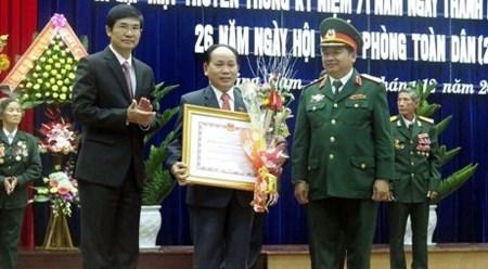 越南各地纷纷举行庆祝越南人民军建军71周年活动 hinh anh 1
