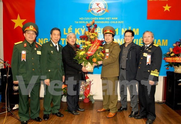 越南人民军建军71周年纪念典礼在印度和德国隆重举行 hinh anh 1