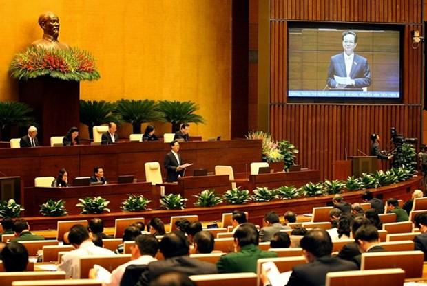 议场质询提高国会的监督作用 hinh anh 1