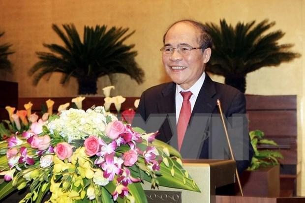 越南国会主席阮生雄今日启程对中国进行正式友好访问 hinh anh 1