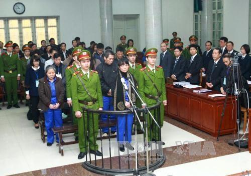 胡志明市法院对越南农业与农村发展银行诈骗和非法占有他人财产案作出判决 hinh anh 1