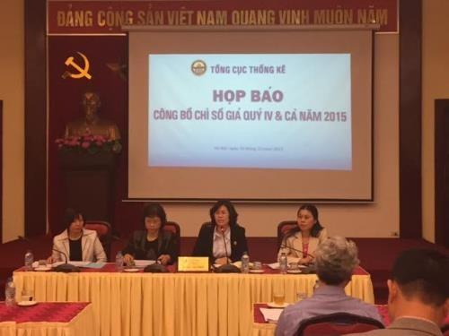 2015年越南消费价格指数创14年来新低 hinh anh 1
