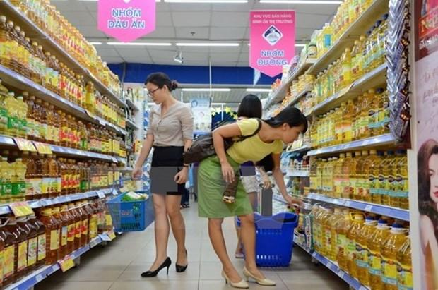 胡志明市12月份消费者物价指数环比下降0.11% hinh anh 1