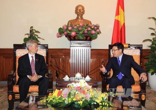 越南国家主席张晋创会见前来辞行拜会的泰国驻越大使潘雅拉克 hinh anh 2