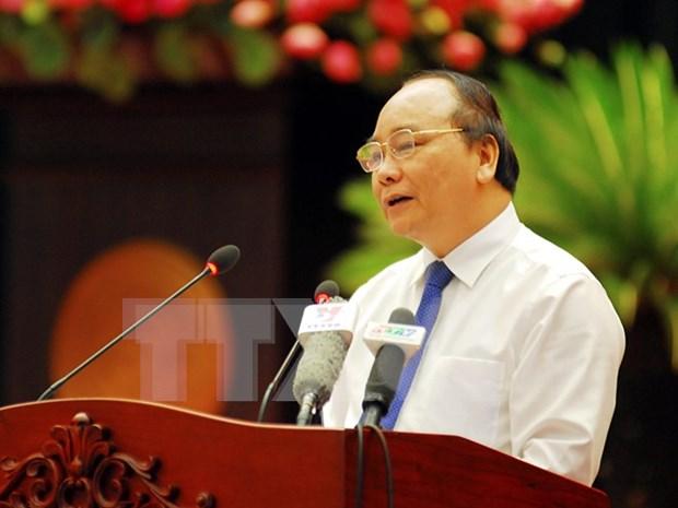 阮春福副总理:反腐败是需要坚定决心和坚强意志的长期过程 hinh anh 1