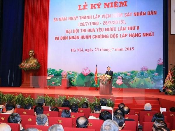 国家主席张晋创:提高打击罪犯效率是检察部门的重大政治责任 hinh anh 1