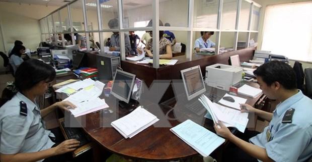 河内市海关提前完成2015年税收目标 hinh anh 1