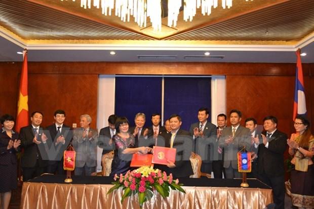越南与老挝加强司法领域的合作 hinh anh 1