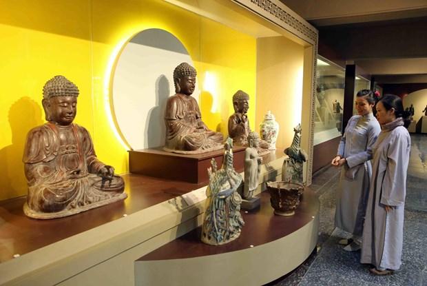 越南首座佛教文化博物馆在岘港市正式开馆 hinh anh 3
