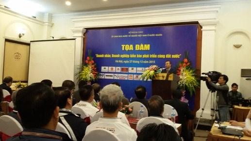 海外越南企业和企业家与国家共同发展 hinh anh 1