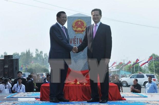 越南副外长阮怀忠:越柬决心携手共建和平、友谊、合作与可持续发展的边界线 hinh anh 1