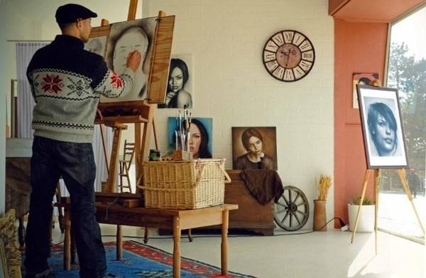 """""""布朗运动""""艺术项目增进越南与西方年轻画家互相交流 hinh anh 1"""