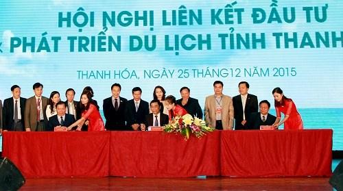 越南清化、义安、宁平三省推动合作促进旅游发展 hinh anh 1