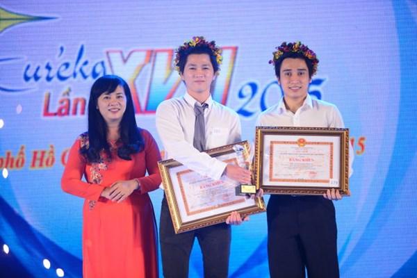 第17届尤里卡科研奖颁奖仪式在胡志明市举行 hinh anh 1
