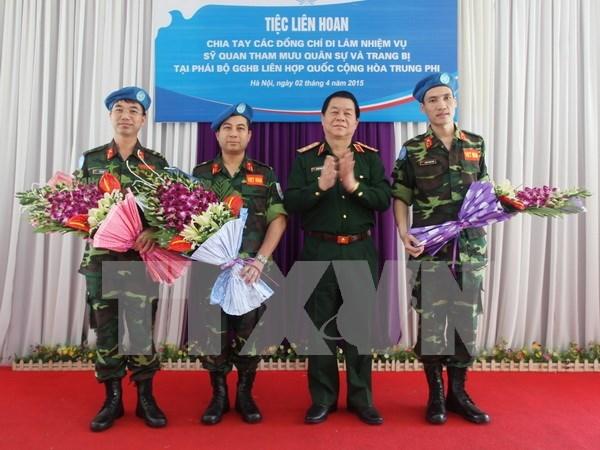 越南积极参加联合国维和行动 hinh anh 1