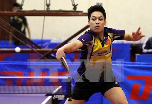 2015年越南国家优秀乒乓球选手锦标赛落幕 hinh anh 1