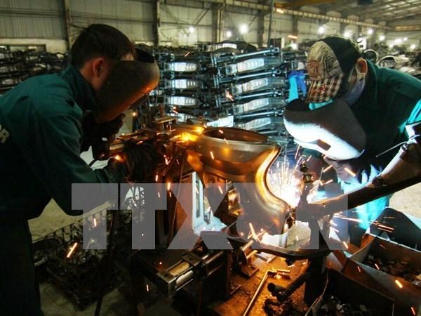 岘港市力争实现2016年工业生产总值增长11%至12% hinh anh 1