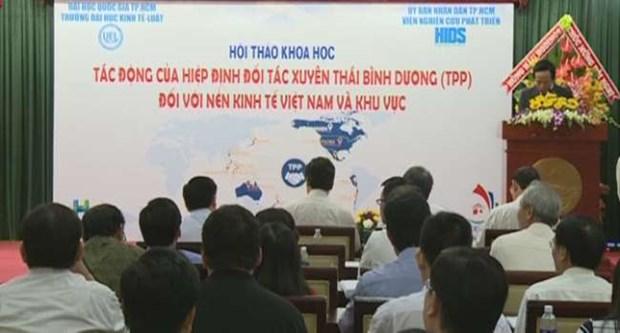 加入TPP越南将要面临不少挑战 hinh anh 1