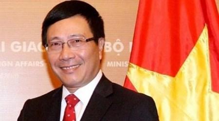 越南副总理兼外长范平明:东盟与越南的融合是一个互惠互利的过程 hinh anh 1