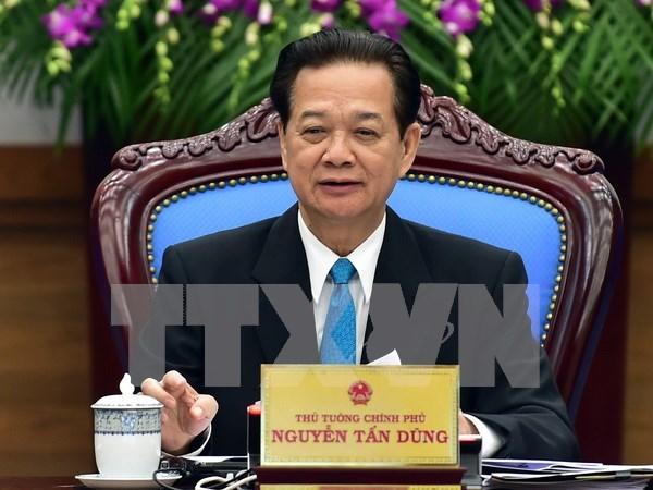 阮晋勇总理:2016年继续着力实现三大战略突破口 hinh anh 1
